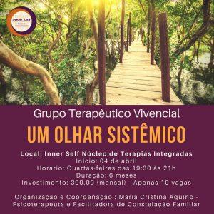 Grupo Terapeutico - Moema - Um Olhar Sistêmico - Inner Self - Vila Mariana - Ibirapuera - Campo Belo - São Paulo - Constelação Familiar
